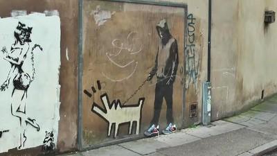Jak Banksy stał się reklamą butów