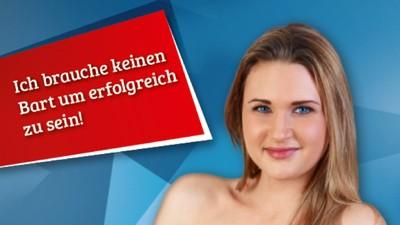 Österreichische Rechtspopulisten zeigen, wie echte Frauen auszusehen haben