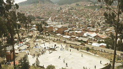 Bolivia Has a Fancy New Skatepark