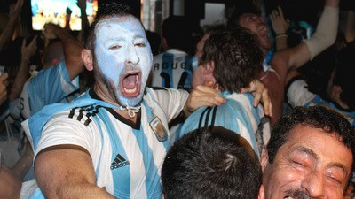 Mourning the Death of the World Cup with London's Weeping Argentines