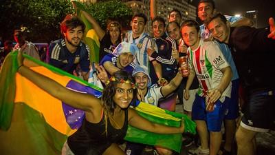 15 Momentos da Copa das Copas em Copacabana