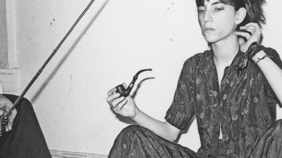 Fumé mariguana con Patti Smith