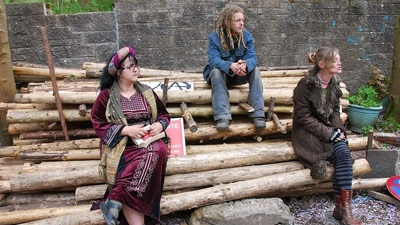 These Hippies Are Camping in the Forest to Rid Scotland of Its Nukes