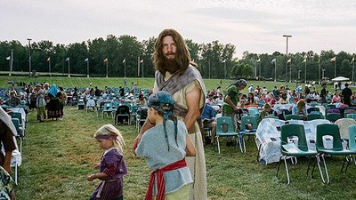 Hundreds of Mormons Reenacted the Book of Mormon in Upstate New York Last Week