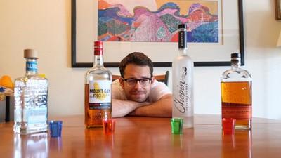 Sometimos a uno de nuestros redactores a una dieta de puro alcohol durante una semana