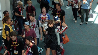 Everything You're Missing at Comic-Con in GIF Form