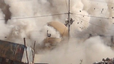 Video Emerges of the Islamic State Obliterating the Tomb of Jonah