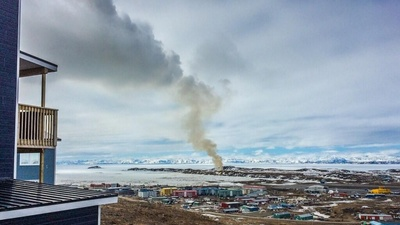 A 'Dumpcano' in the Canadian Arctic Has Been Burning for Eight Weeks