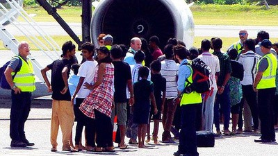After Four Weeks at Sea 157 Asylum Seekers Have Landed In Australia