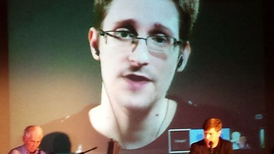 What I Learned from Edward Snowden at the Hacker Conference