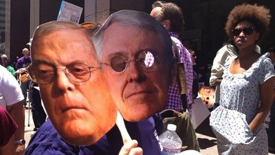 The Koch Brothers' Fake Libertarianism: War, Forced Pregnancies, and Homophobia