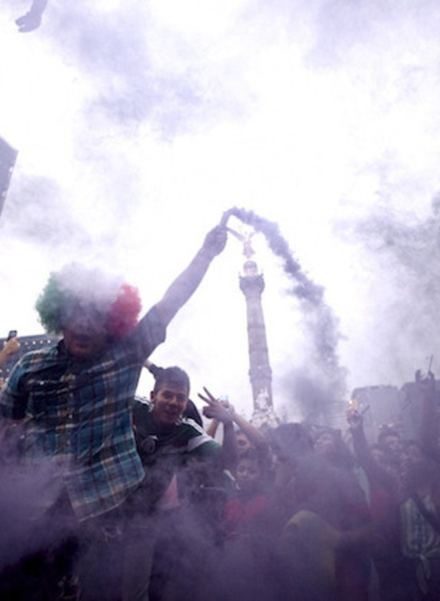 This is How Mexico City Celebrated 3-1 Against Croatia