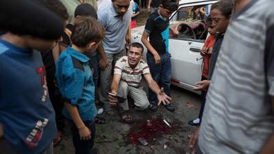 En imágenes: la morgue de Gaza está inundada de cadáveres