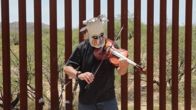 Meet the Musician Who Uses the US-Mexico Border Wall as an Instrument