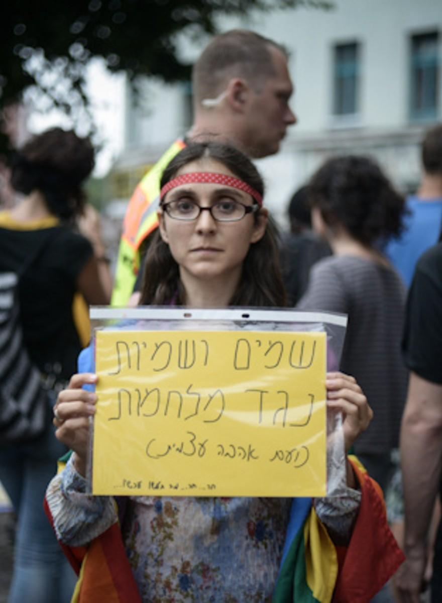 In Berlin demonstrierten Israelis und Palästinenser gemeinsam gegen den Krieg