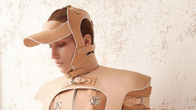 Marina Hoermanseder Turns 18th-Century Orthopedic Medical Gear into High Fashion