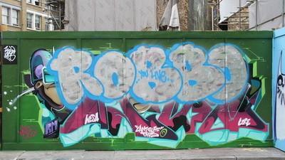 My Night with London's Late Graffiti King