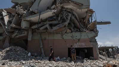 En imágenes: el número de muertos en Gaza supera los 1.000