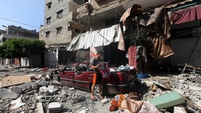 En imágenes: Gaza sitiada