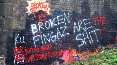 Israel's Broken Fingaz Graffiti Crew Have Spent Their Career Appalling People