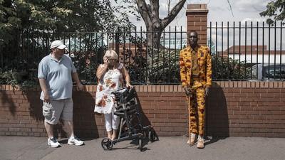 Sapeurs zijn er genoeg in het Londense Peckham