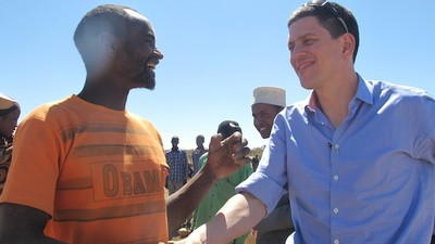 David Miliband Can't Speak About British Politics Any More