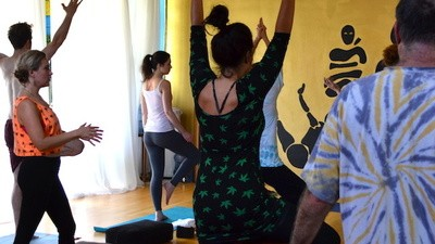 I Went to a Yoga Class for Stoners