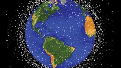 La basura espacial nos va a dejar atrapados