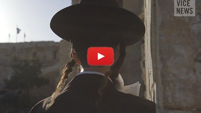 Colonos judíos en Hebrón