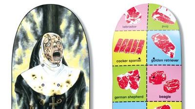 Die provokativsten Deck-Designs der Skateboard-Geschichte