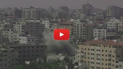 Entre los escombros de Gaza