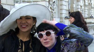 London Fashion Week... on Acid!