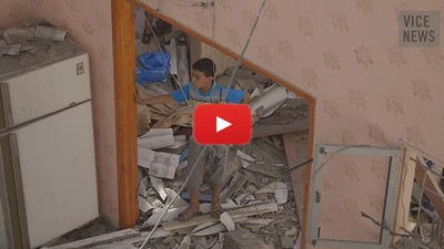 Los habitantes de Gaza regresan a sus hogares en ruinas