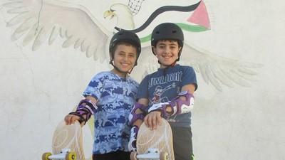 Conocemos el primer skate park de Palestina