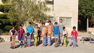 Conocimos el primer skatepark palestino