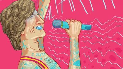 El ilustrador Cristóbal Fortúnez piscoanaliza al crooner Tony Lomba