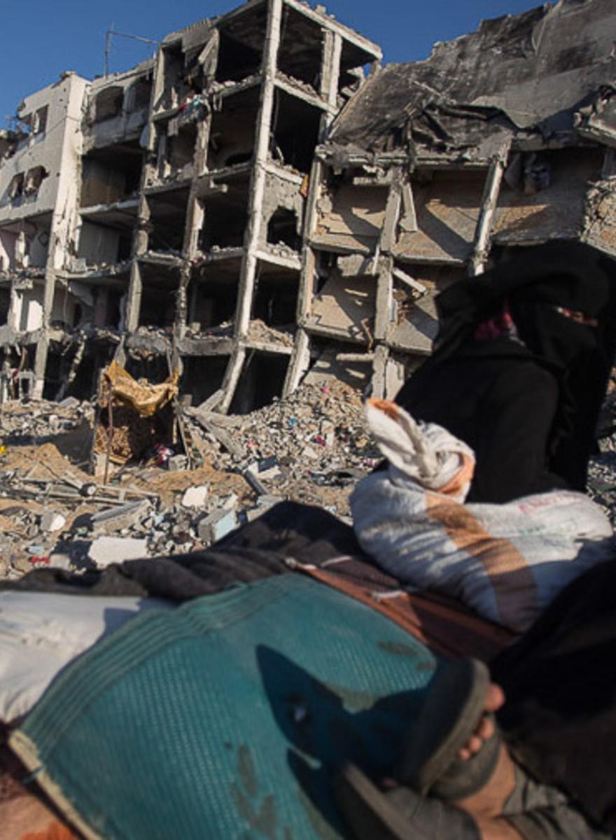 Gaza: el olor a muerte no se va de las calles