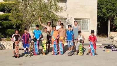 Say Hello to Palestine's First Skate Park