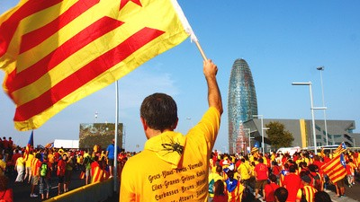 This Year's National Day of Catalonia Was a Big Independence Blowout