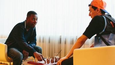 Jugué una partida de ajedrez con GZA, de Wu-Tang Clan