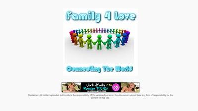 Family4love es el Facebook de los incestos