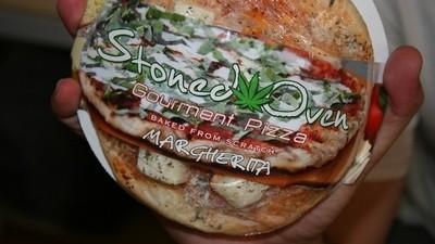 Diese Graspizza macht Heißhunger auf Pizza