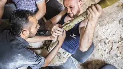 In Bildern: Hautnah mit der Islamischen Front in Aleppo