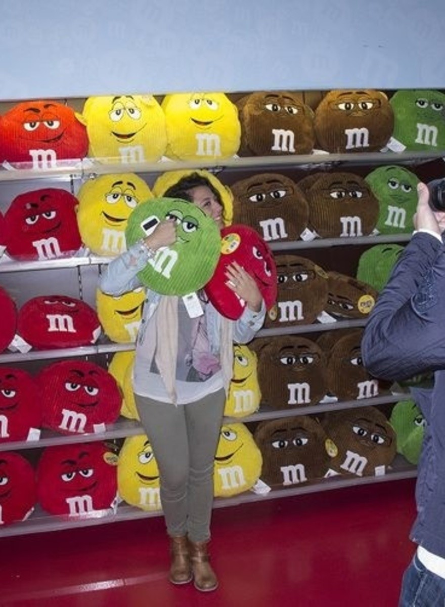 The M&M's Store in London Is Really Odd