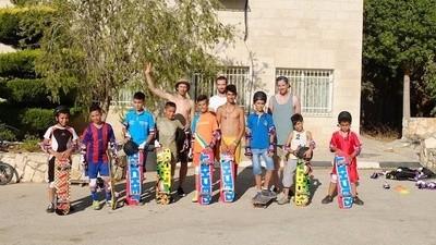 Palestina má svůj první skatepark