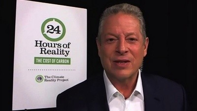 Twenty-Four Hours with Al Gore at His Climate Change Variety Show