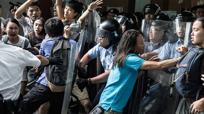 Kids in Hong Kong Took to the Streets to Demand More Democracy
