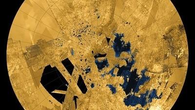 Das unbekannte Loch-Ness-Objekt vom Saturnmond Titan ist wieder aufgetaucht