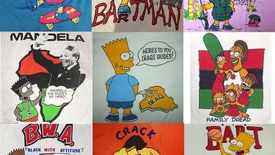 Hablamos con la máxima autoridad mundial en camisetas piratas de Bart Simpson