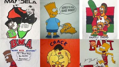 Hablamos con la máxima autoridad en playeras piratas de Bart Simpson